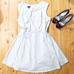 Special Occasion Ivory A-Line Dress- size 22